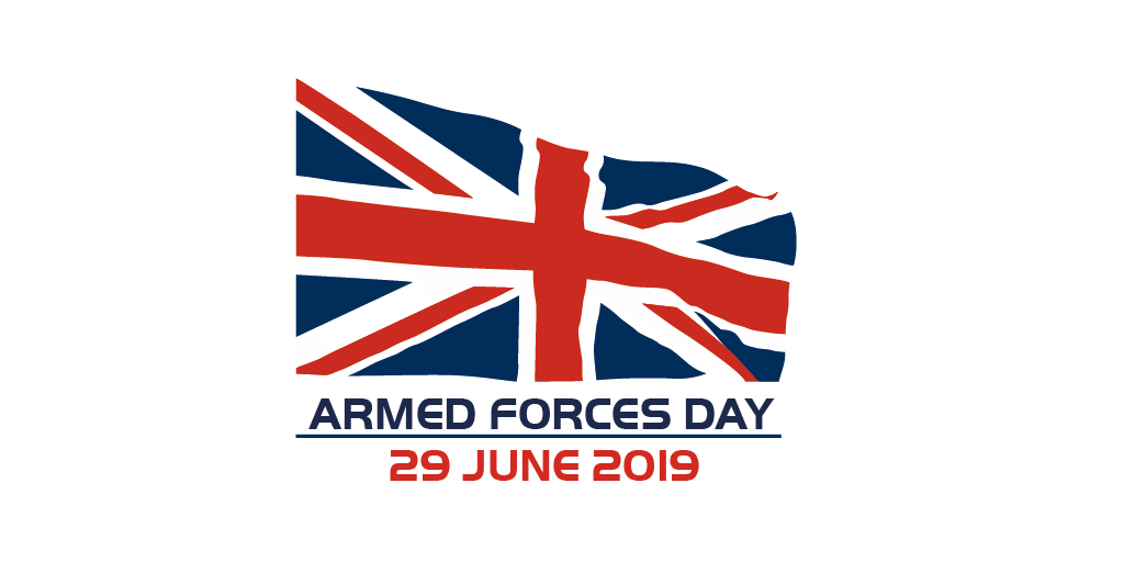 Armed Forces Day 2019 logo
