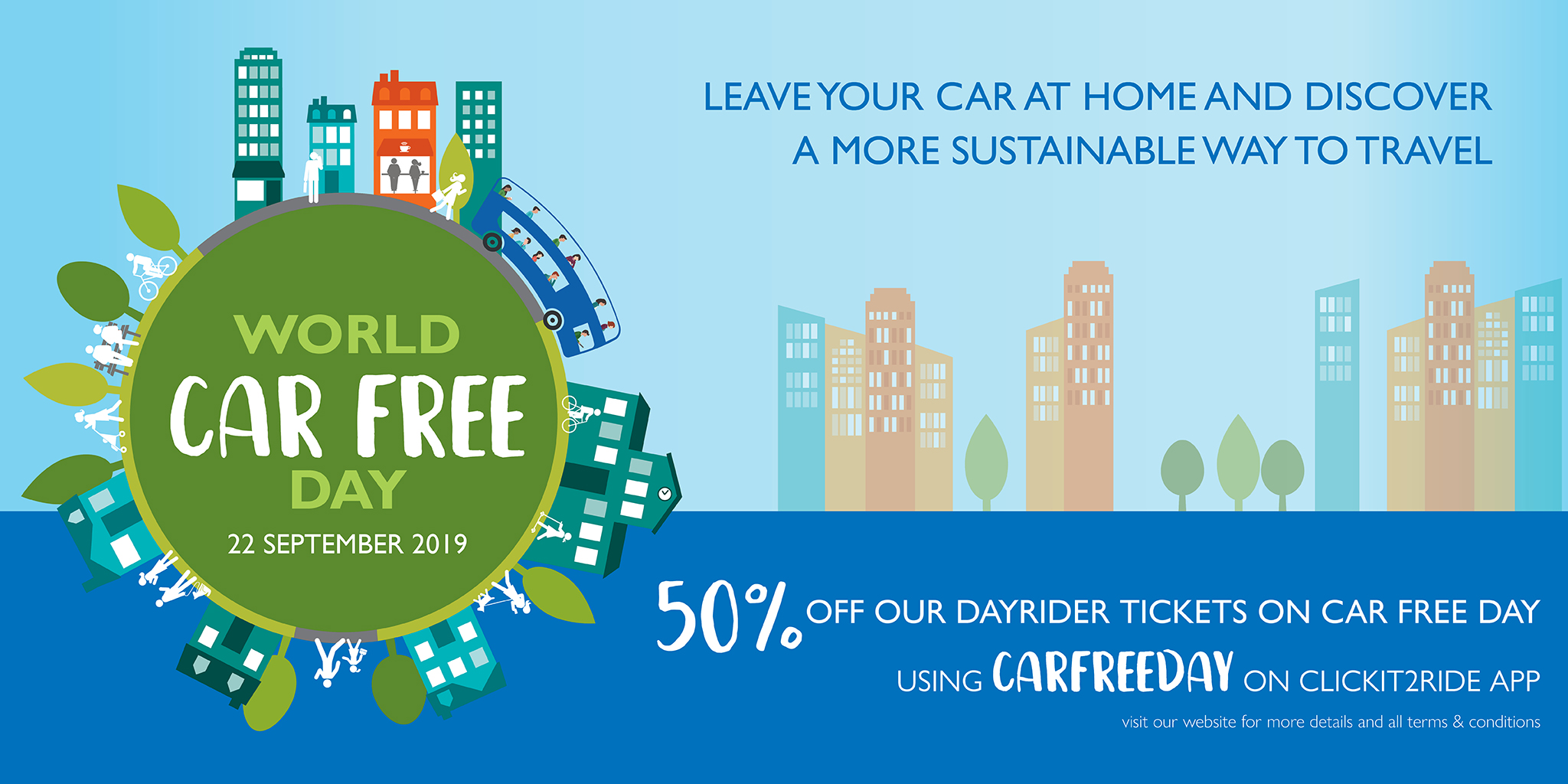 World Car Free Day - Sunday 22nd September