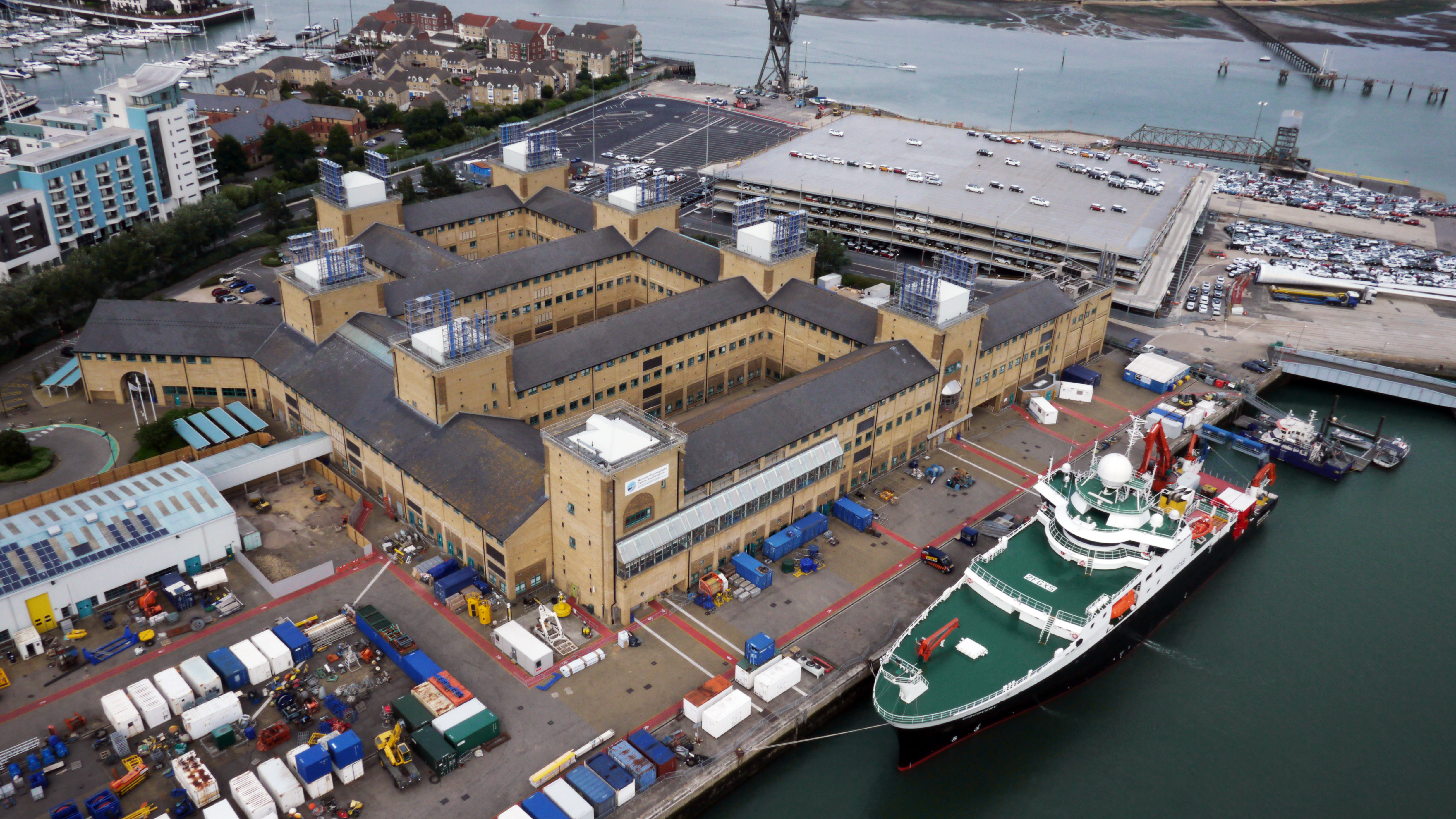 Aerial view of the NOC at Southampton