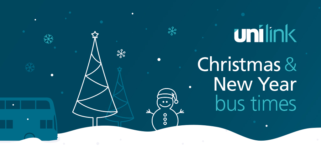 Unilink Christmas and New Year bus times