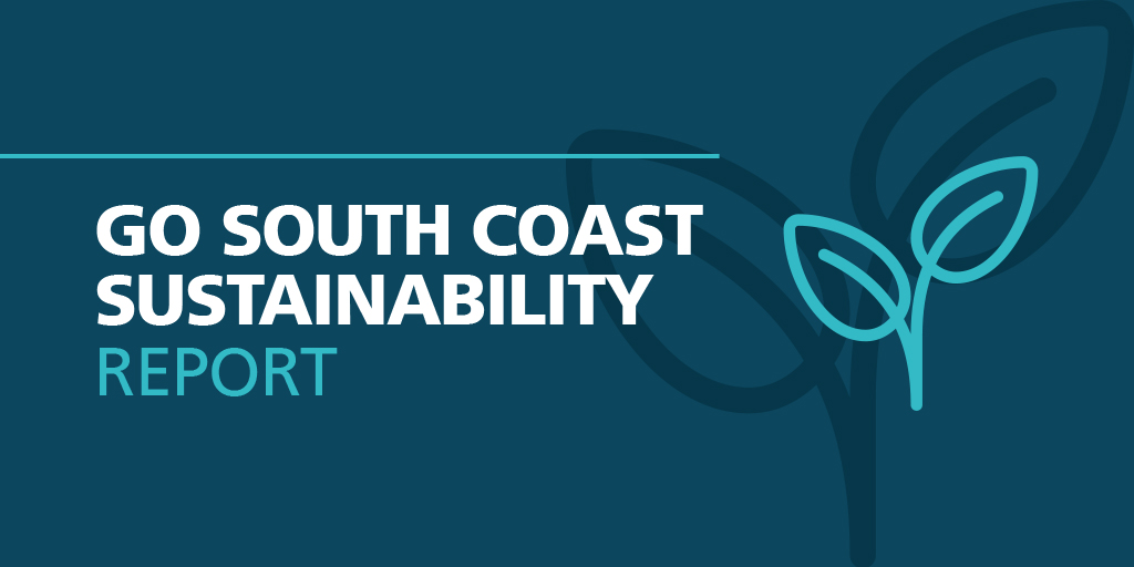 Go South Coast Sustainability Report logo