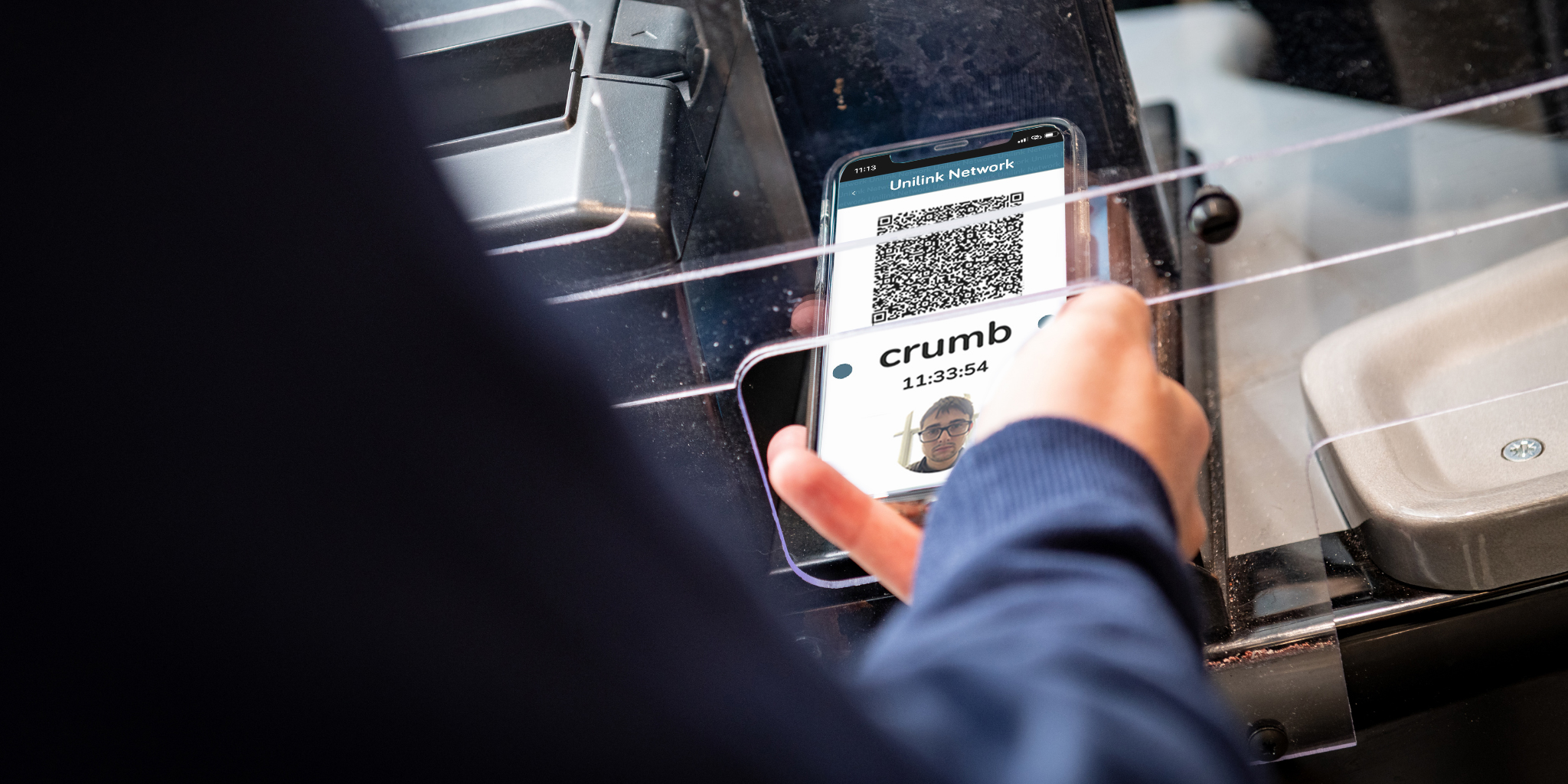 unilink mobile ticket in action